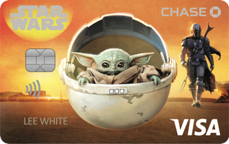 Disney Rewards VISA® Cards from CHASE with The Mandalorian design