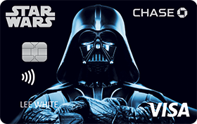 STAR WARS Rewards VISA® Cards from CHASE with Darth Vader design