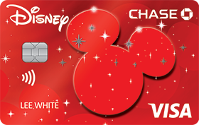 Disney Rewards VISA® Cards from CHASE with Pixie Dust design