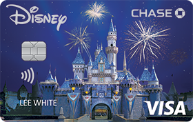 Disney Rewards VISA® Cards from CHASE with Sleeping Beauty Castle design