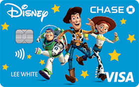 Disney Rewards VISA® Cards from CHASE with Toy Story design