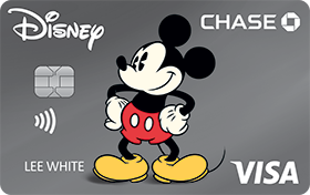 Disney Rewards VISA® Cards from CHASE with Vintage Mickey design